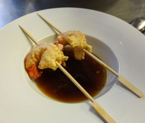 soup starter shrimp