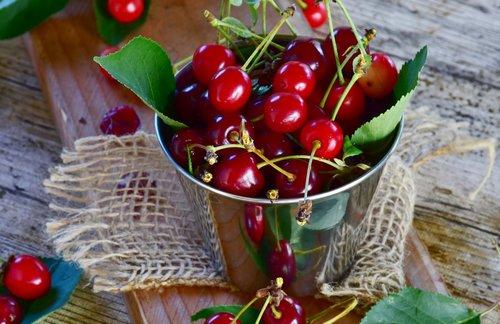 sour cherries  cherries  fruit