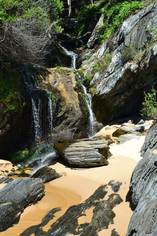 south africa storms river bridge waterfall