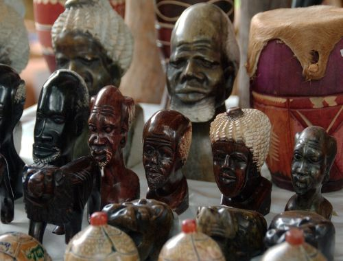 south africa market figurines