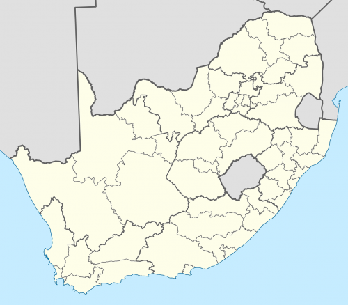 south africa map districts