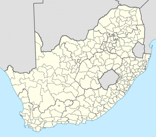 south africa map of south africa political boundaries