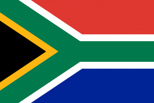 south africa flag nationality