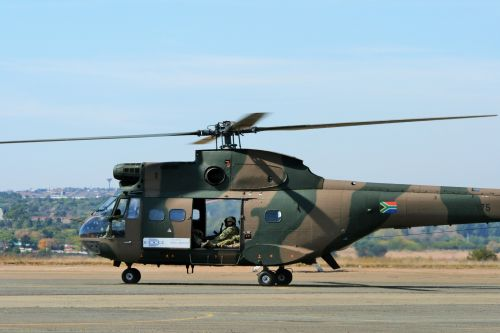 South African Air Force Museum Puma