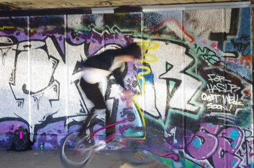 south bank centre bikers murales
