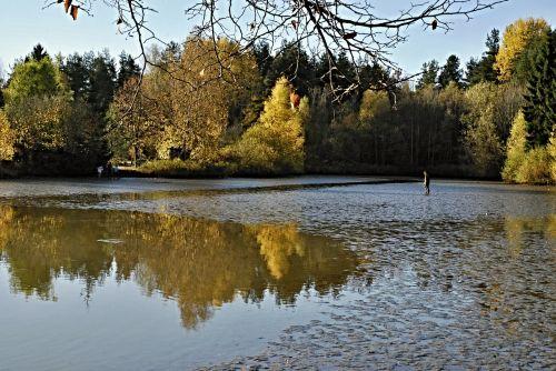 south bohemia harvesting pond
