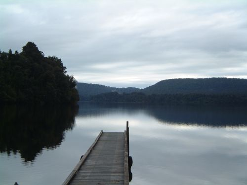 south island lake jetty