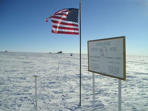 south pole station geographic south pole marker amundsen station