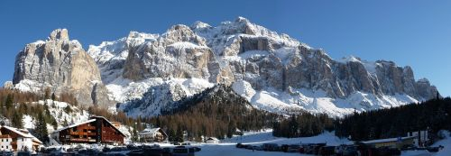 south tyrol sella mountains