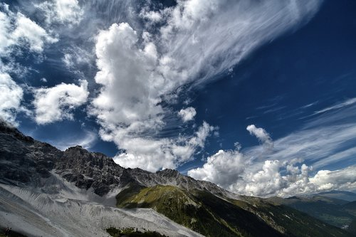 south tyrol  ortler  alpine