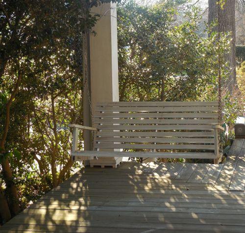 southern porch swing