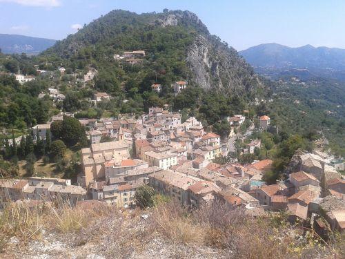 southern france tourist landscape