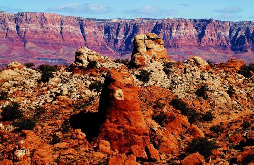 grand canyon usa rock formations