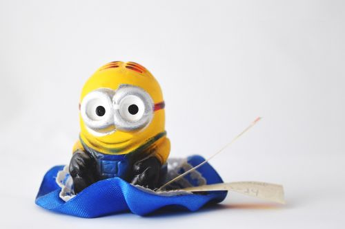 souvenir minion toy