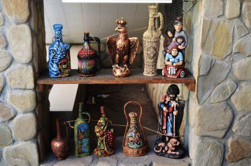 souvenirs wine bottles
