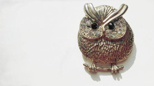 sowa jewelry brooch