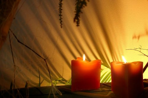 spa candles relax