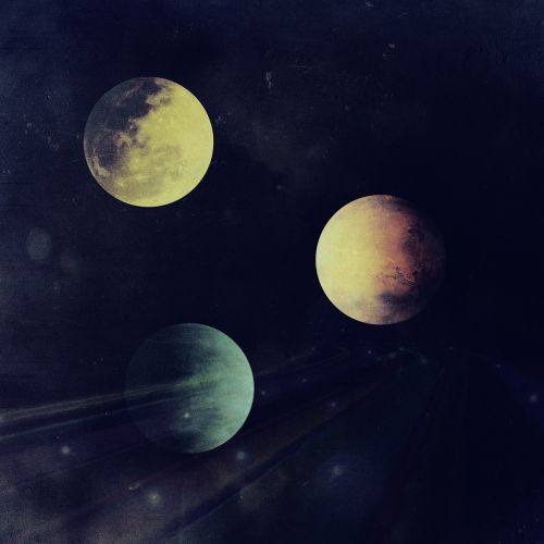 space planets globe