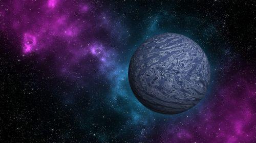 space planet orbit
