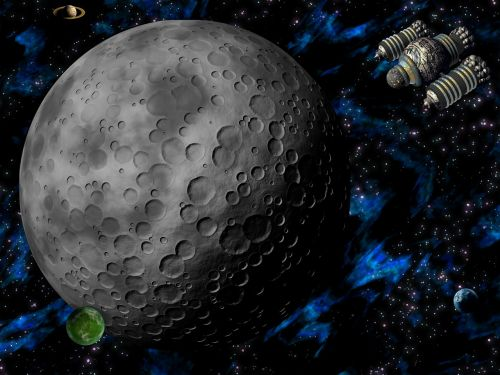 space alien planet