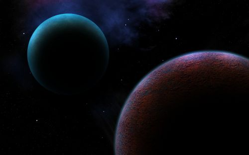 space planet sci fi