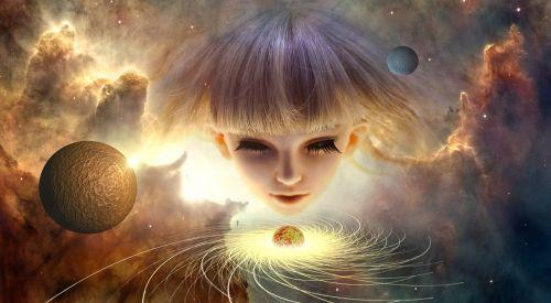 space universe composing