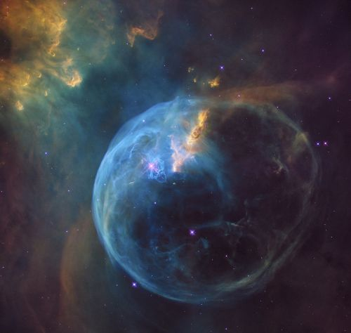 space bubble nebula