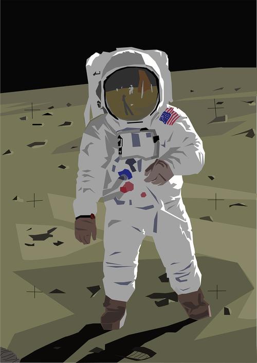 space  astronaut  aldrin