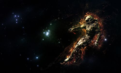 space planet scifi