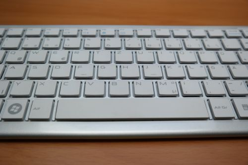 space bar letters keyboard