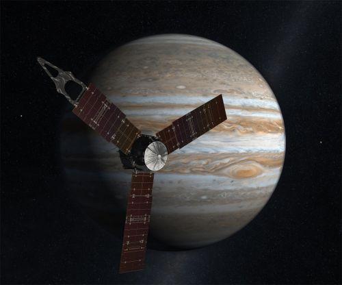 space probe juno planet