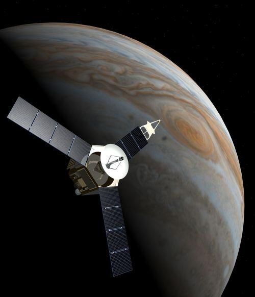 space probe juno jupiter