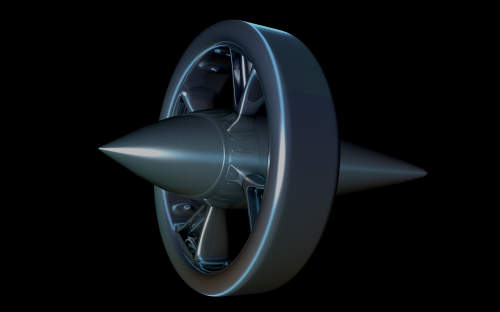 space probe orbiter space