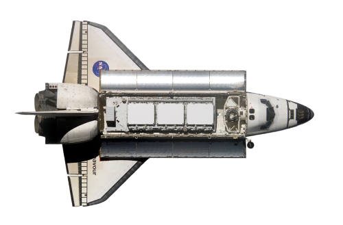space shuttle endeavour top