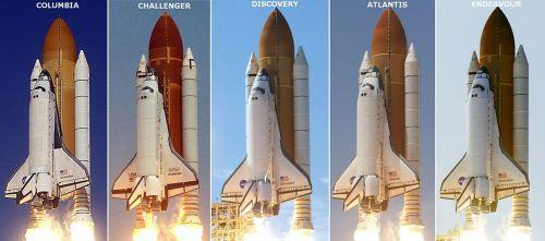 space shuttle profiles spacecraft