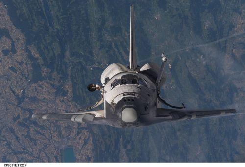 space shuttle shuttle space