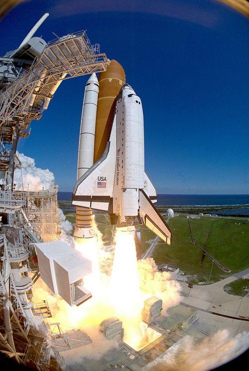 space shuttle lift off shuttle
