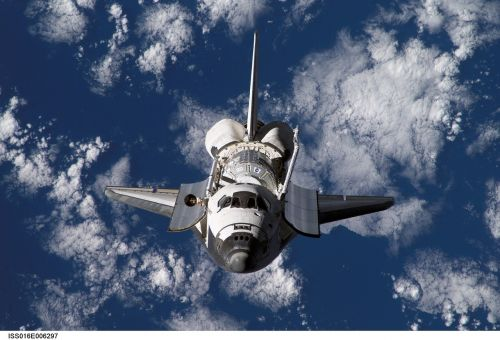space shuttle discovery cosmos