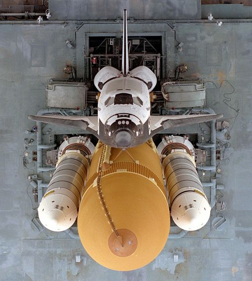 Space Shuttle Rollout