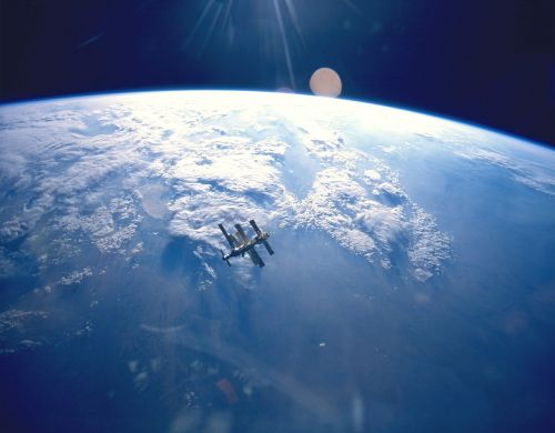 space station russian mir