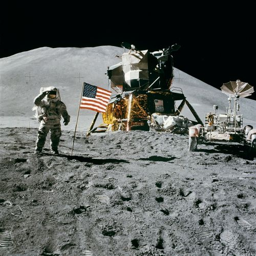 space station moon landing apollo 15