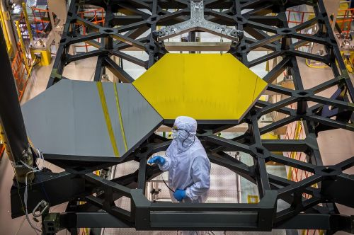 space telescope mirror segments high tech