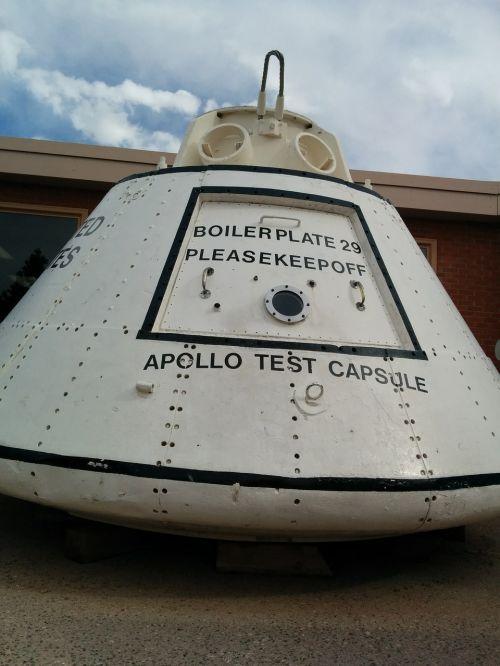 space travel apollo test capsule apollo