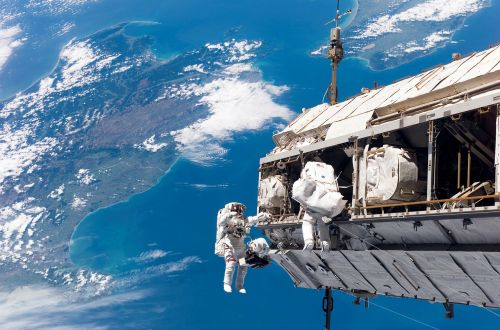 space walk astronaut nasa