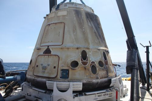 spacecraft spacex spaceship