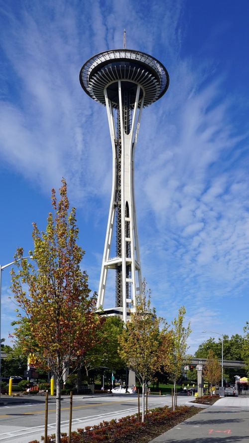 spaceneedle seattle america