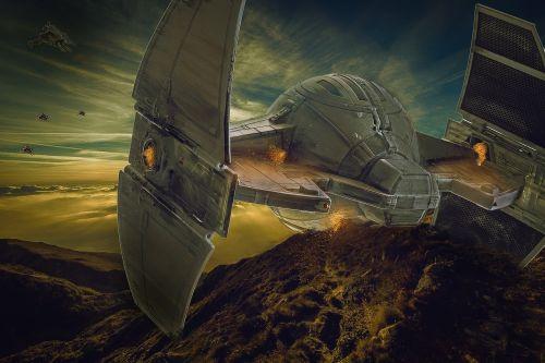 spaceship alien ufo