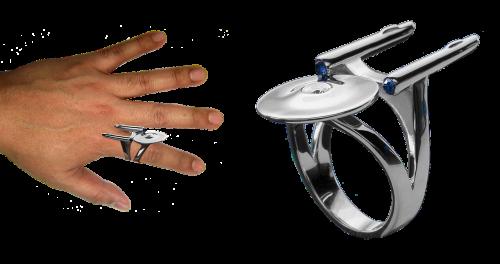 spaceship ring enterprise