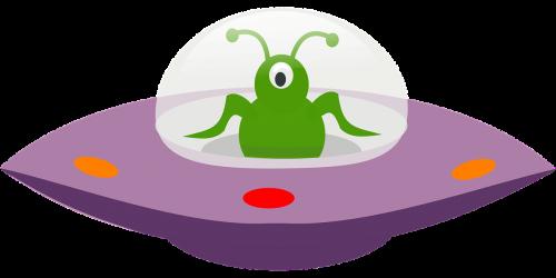 spaceship alien saucer