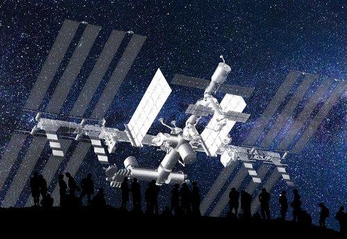 spaceship  travel  panorama